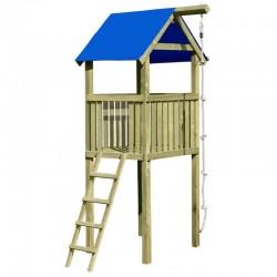 Spielturm mit Leiter und...