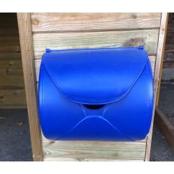 Briefkasten blau